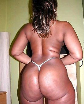 ebony,ass