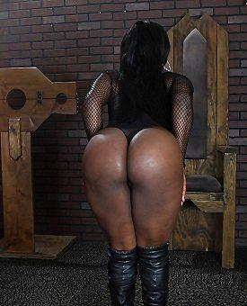 ebony,ass