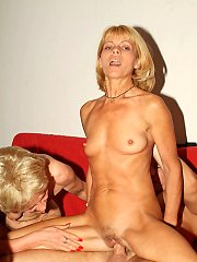 Mature Ladies Girlfriends And Rosalie Meet Up With Their Fuckbuddy And.
