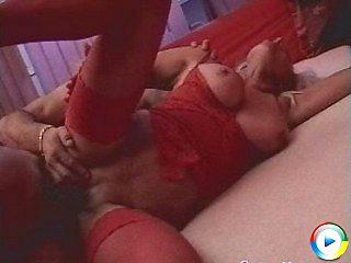 Fierce granny rosalyn sucks doctors hairy mature pussy pumped
