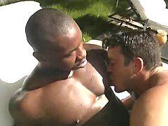 Interracial gay taboo sex