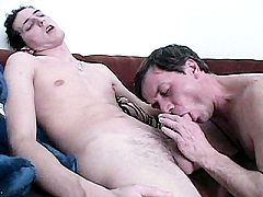 Nathan and Anthony naked bodies or taking turns swallowing their m.