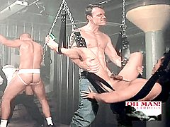 Horny ivory gays stuffing their cocks deep into hot gays on.