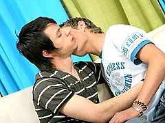 Gorgeous young gay having his ass cock stirred