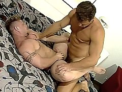 Hard muscled groupsex gays doggystyle ass enjoy deep cock stuffing