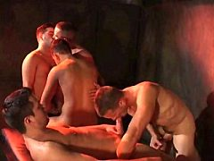 Glory hole gang bang, gay dvd movie, gay hardcore interracial sex video