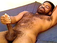 Sexy skinny black cub bending over bed to have his tiny ass sucking cock