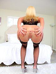 blonde,ass