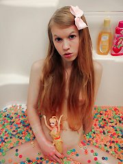 "Dolly Little Cereal Bath - ""This Years Model"""