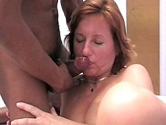 She is really gets got it tongue looks really loves sucking cock cock fu