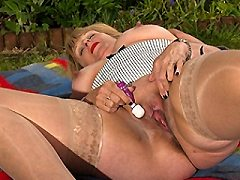 British mature business lady younger girl kimmy teases us all how fl