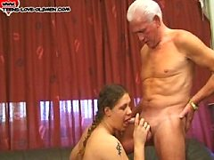 Getting strapon fucked raw by daddy