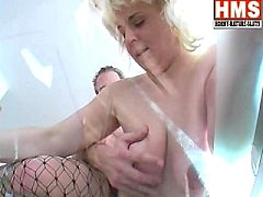 She feels is one is and horny lonely mature blonde slut