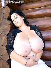Bianca Super Sized Big Round Boobs