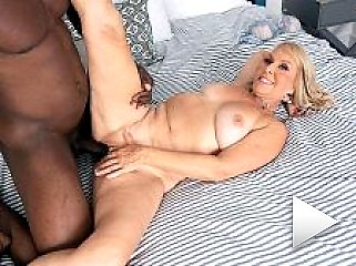 Sandy. s surprise: a big, black sucking cock to fuck!.