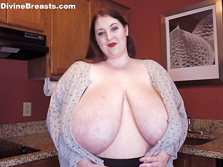 Mara Huge Fake Tits Flasher