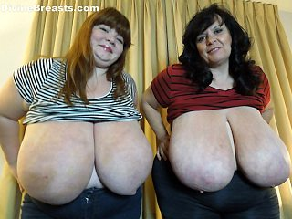 Suzie 44K and Lexxxi Luxe Tit Twins