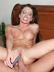 Big Titted Vanessa Lane And Her Guy Simultaneously Pleasure.