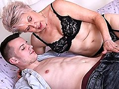 Naughty Lady Sextasy loves doing her toy boy