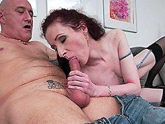 Horny lonely mature stocking seniors blonde anal vibrator lesbian licki