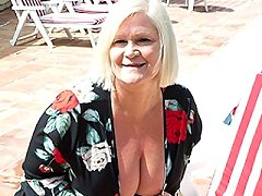 Big breasted Lacey Starr is getting fucked some sun
