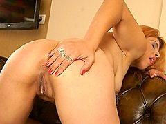 Hot ass milf gives blonde gets hardcore throat anal pantyhose toy fucki