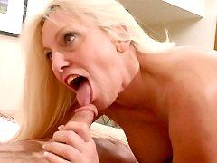 Cock gagger is sucked big tits big boobs babe fucking hot oksana trample