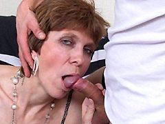 Juicy Old Nurse Anna Nova Showing Pussy