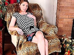 Naughty julie anal lesbian mom toying with melons showing off his perky