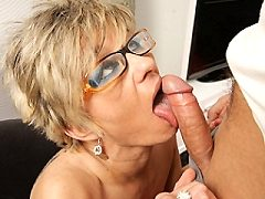 Sexy mature bbw housewife deauxma gets fucked by her hung toyboy