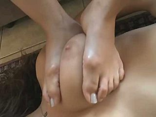 Feet worship and lesbian foot slavery